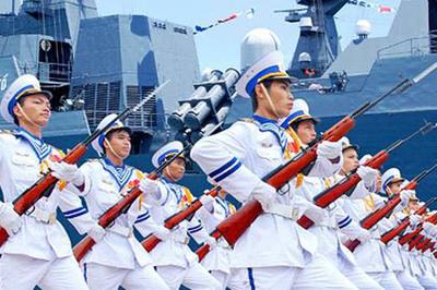 8 sĩ quan Việt Nam tham gia diễn tập hải quân Vành đai Thái Bình Dương RIMPAC