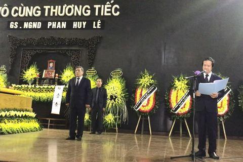 Nguyễn Kim Sơn phát biểu