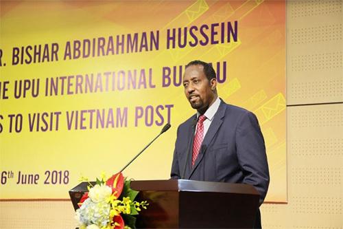 Tổng giám đốc UPU khen ngợi Bưu điện Việt Nam đổi mới