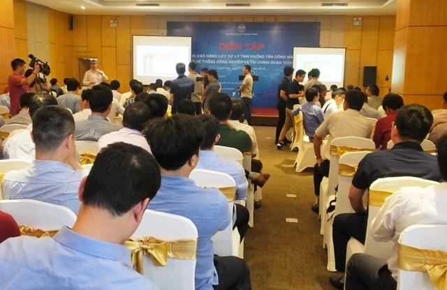 Diễn tập xử lý tấn công mạng quy mô lớn tại Việt Nam