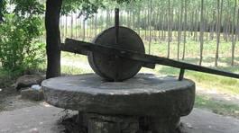 Đại gia Đồng Nai chi 160 triệu mua chiếc cối đá  2 tấn về ngắm