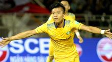 Phan Văn Đức lập cú đúp, SLNA đánh bại Sài Gòn FC