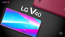 LG V40 có tới 5 camera: 3 phía sau và 2 phía trước