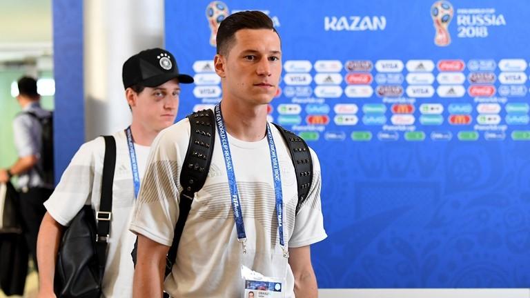 Và tuyển thủ Đức đã có mặt ở sânKazan Arena