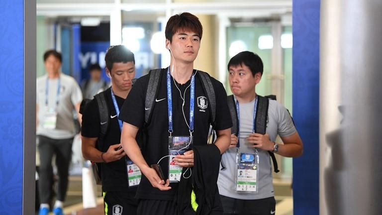 Các cầu thủ Hàn Quốc
