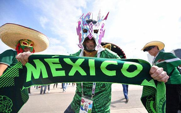 Mexico vs Thụy ĐIển