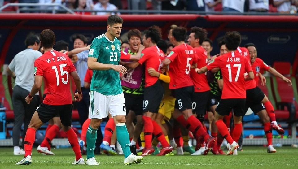 Hàn Quốc đá văng Đức khỏi World Cup: Tuyệt vời châu Á!
