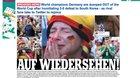 """Đức bị loại sớm World Cup: """"Cơn ác mộng, nỗi nhục lớn nhất lịch sử"""""""
