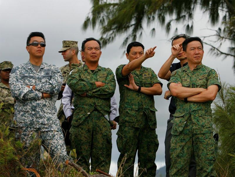 Hình ảnh cuộc diễn tập RIMPAC Việt Nam được mời tham gia