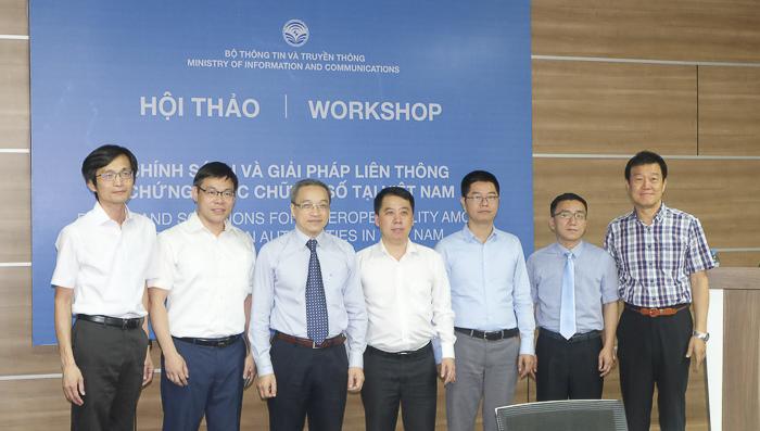 Việt Nam sẽ có giải pháp liên thông chứng thực chữ ký số