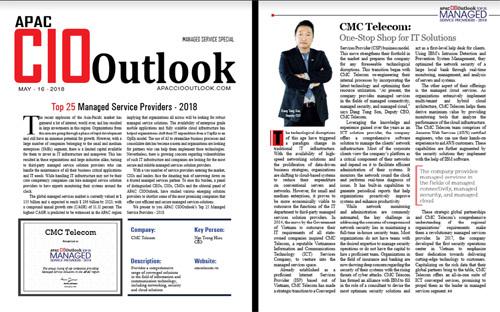 CMC Telecom-Top 25 nhà cung cấp dịch vụ quản trị châu Á-TBD