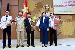 Nhân sự mới Văn phòng Quốc hội