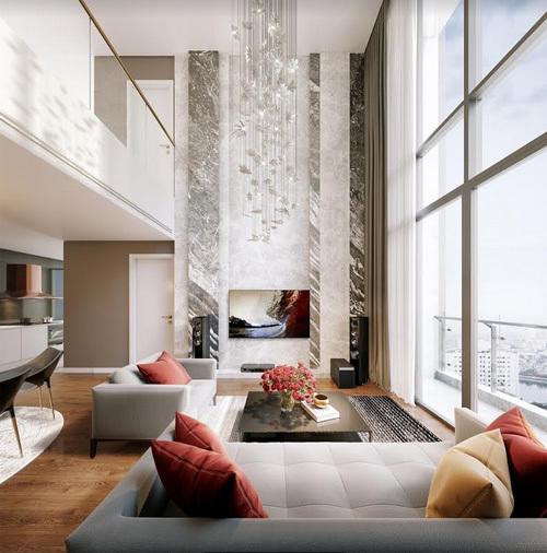 'Săn' căn hộ duplex trung tâm thủ đô