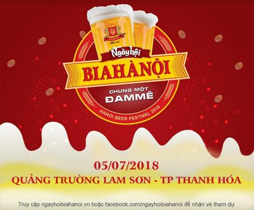 Ngày hội Bia Hà Nội 2018 'đổ bộ' xứ Thanh