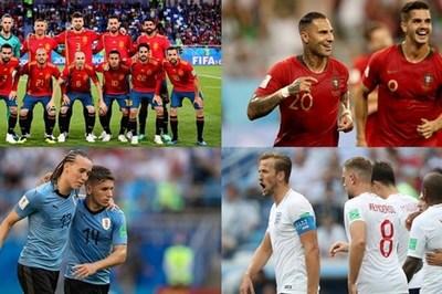 Xác định 8 cặp đấu vòng knock-out World Cup 2018