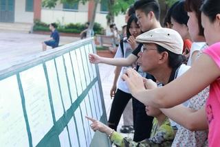 Chiều nay Hà Nội công bố hạ điểm chuẩn vào lớp 10 năm 2018