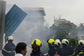 rơi máy bay Mumbai