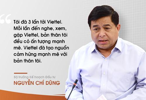Thủ tướng và nhiều bộ trưởng khen ngợi Viettel