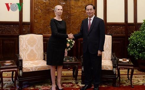 Chủ tịch nước tiếp Tổng thống Nauru và Đại sứ Na Uy tại Việt Nam