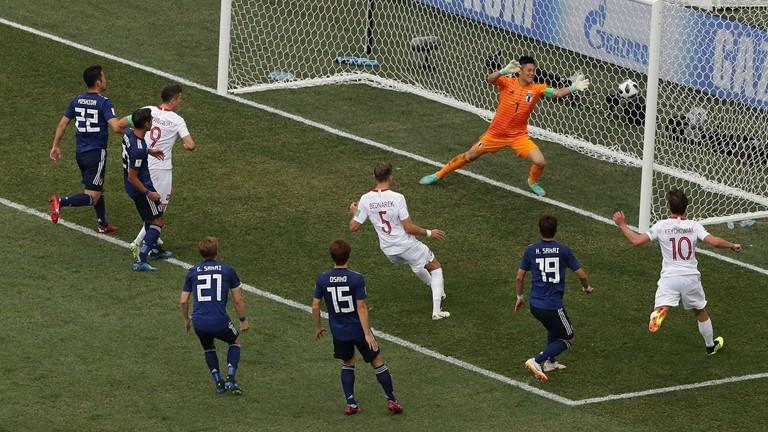Nhật Bản đi tiếp không thuyết phục tại World Cup 2018