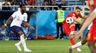 Video bàn thắng Anh 0-1 Bỉ