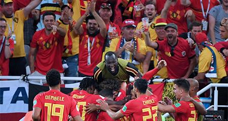 Hạ gục Anh, Bỉ toàn thắng vòng bảng