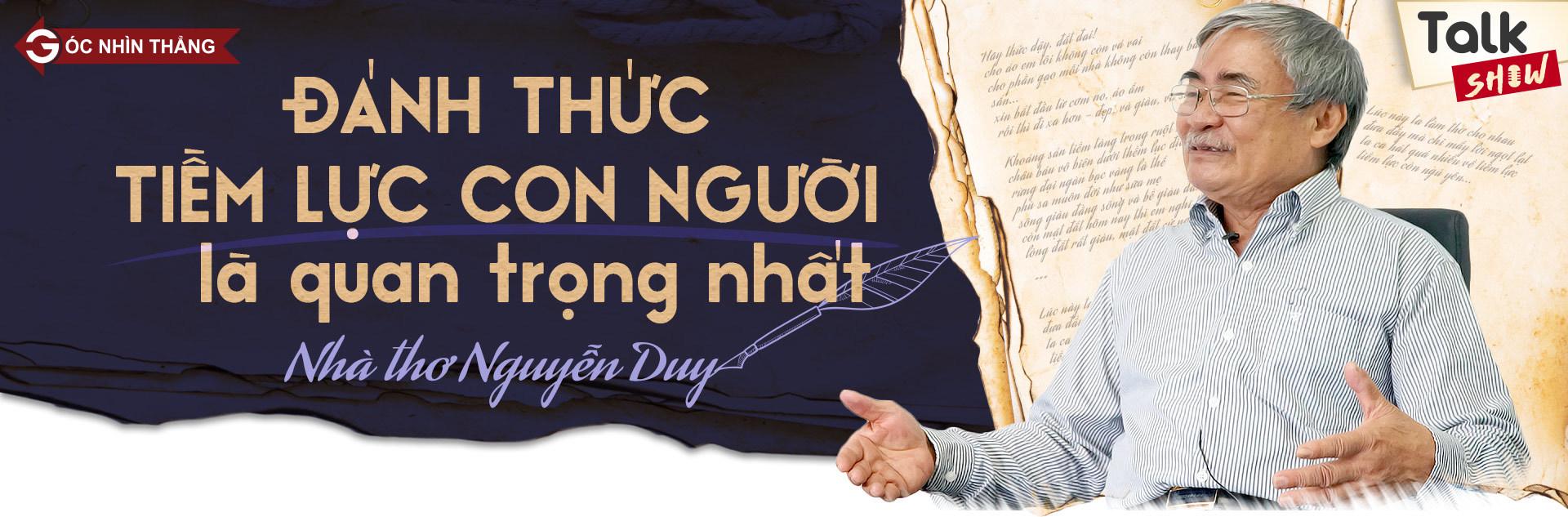 Thi Tốt nghiệp THPT Quốc gia 2018,Nhà thơ Nguyễn Duy,Bài thơ Đánh thức tiềm lực,Đề thi môn Ngữ văn