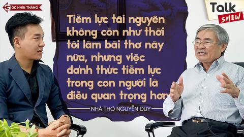 GNT nhà thơ Nguyễn Duy