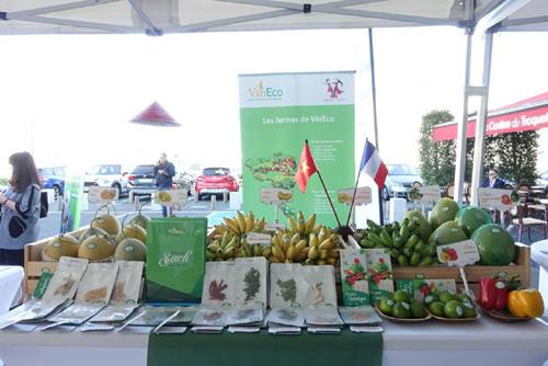 VinEco 'ghi điểm' tại chợ đầu mối nông sản quốc tế