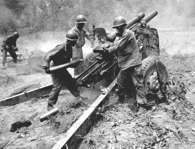Hình ảnh lính Mỹ tham chiến ở Triều Tiên 68 năm trước
