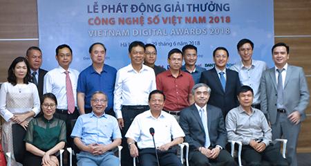 Phát động bình chọn Giải thưởng công nghệ số Việt Nam