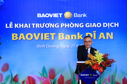 Thêm một phòng giao dịch BAOVIET Bank ở Bình Dương