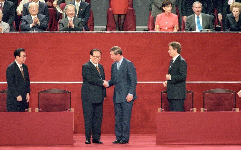 Ngày này năm xưa: Anh trao trả Hong Kong cho Trung Quốc
