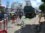 Xe chở rác của Công ty Môi trường TP.HCM cán chết người phụ nữ
