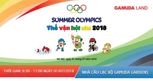 Ngày hội thể thao nhí 'Gamuda - Summer Olympics 2018'