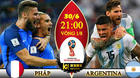 Link xem trực tiếp Pháp vs Argentina, 21h ngày 30/6