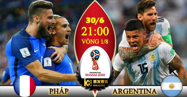 Link xem Trực tiếp Pháp vs Argentina
