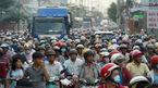 Kẹt xe kinh hoàng sau vụ tai nạn chết người ở Sài Gòn