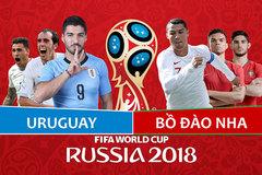 Kèo Uruguay vs Bồ Đào Nha: Thổi bay nhà ĐKVĐ châu Âu