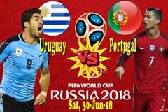 Uruguay vs Bồ Đào Nha: Ronaldo so tài Luis Suarez