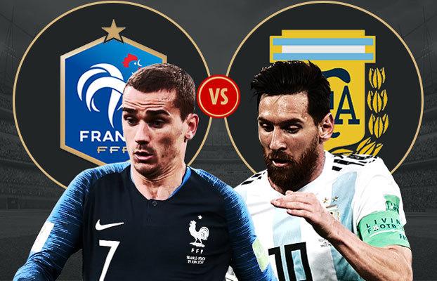 Pháp vs Argentina: Long hổ tranh hùng