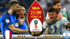 Chuyên gia chọn kèo Pháp vs Argentina: Đánh nhanh thắng nhanh