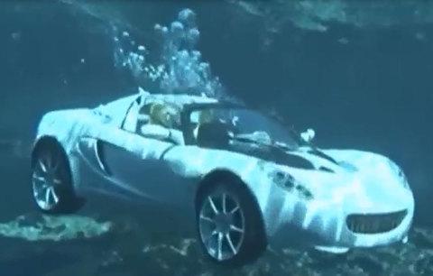 Ôtô thể thao chạy dưới nước giá 2 triệu USD