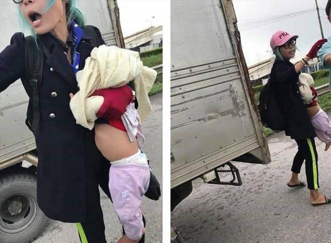 'Hot girl' Bella và con trai được chuyển tới Trung tâm bảo trợ xã hội