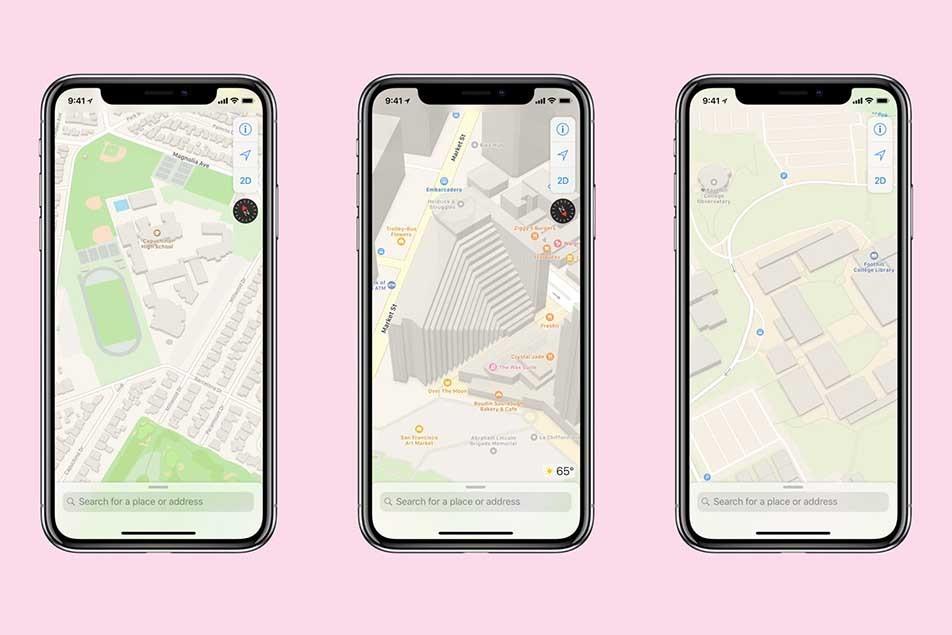 ứng dụng,Apple,iOS,bản đồ