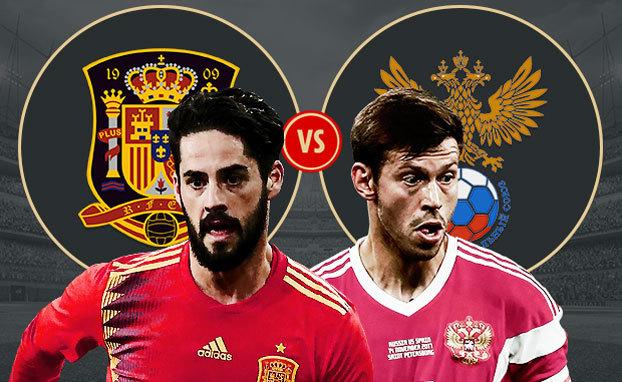 Nga vs Tây Ban Nha: Bắt vía chủ nhà