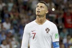 """Ronaldo lực bất tòng tâm, chẳng thể """"cõng"""" Bồ Đào Nha đi tiếp"""