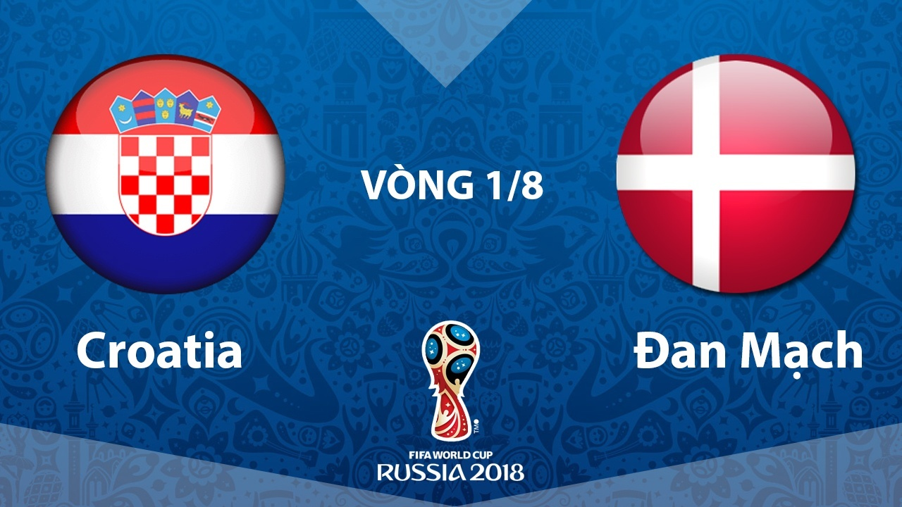 Trực tiếpCroatia vs Đan Mạch