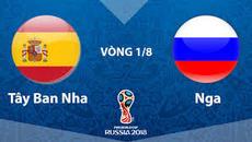 Link xem trực tiếp Tây Ban Nha vs Nga, 21h ngày 1/7
