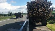 2 vợ chồng tông vào xe tải chết thảm lúc mờ sáng